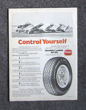 OLYMPIC TYRES 1978 - Vintage Auto Magazine Sales Ad Page Advertisement HOLDEN