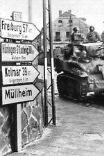 Photo WW2 - Alsace 1944 - Libération de Mulhouse
