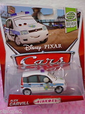 2013 Disney Pixar Cars #17 ALEX CARVILL✰Security Guard fiat at Porto Corsa✰WGP