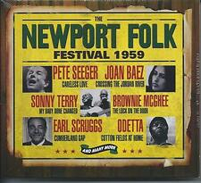 The Newport Folk Festival 1959 - 42 Various Tracks (3CD 2011) NEW/SEALED