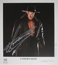WWE UNDERTAKER P-1191 HAND SIGNED AUTOGRAPHED PROMO PHOTO WITH EXACT PROOF COA