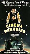 Cinema Paradiso Vhs movie