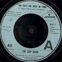 """GAP BAND the boys are back in town 7"""" WS EX/ uk mercury MER 2"""