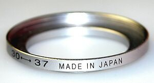 Step-up Ring Metal Ring 30-37mm 30mm Lens to 37mm Filter Japan 30mm-37mm 30-37
