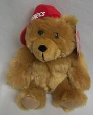 "Hershey's Kisses TEDDY BEAR W/ RED HAT 6"" Plush STUFFED ANIMAL Toy NEW"