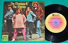 """The Mamas & The Papas - My girl + 3 BRAZIL ONLY 4 Track 7"""" EP 1976 ABC"""