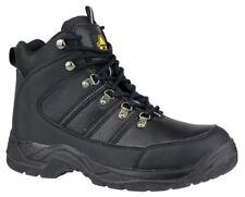 Stivali, anfibi e scarponcini da uomo nero in gomma