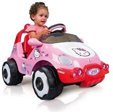 Hello Kitty paseo en coche eléctrico, 6 voltios/6 V alimentado por batería, Nuevo, Nunca Usado