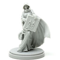 █ 30mm Resin Kingdom Death Archivist Unpainted Unbuild WH077