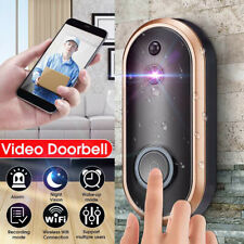 Wireless Video WIFI Doorbell Camera Talk Waterproof Intercom Security Ring USPS