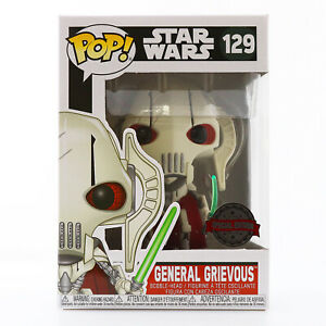 Funko POP! Star Wars - General Grievous Special Edition Exclusive With Protector
