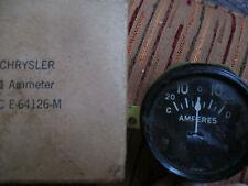 Vtg NOS Chrysler Ammeter Amp Gauge CC E 64126-M w/Box