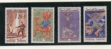 Túnez Valorres del año 1959-61 (DN-491)