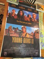 YOUNG GUNS II MOVIE POSTER  Double Sided 27x40