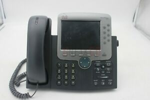 USED Cisco CP-7970G IP Phone VoIP 8 Button Colored LCD Display