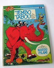 SPIROU ET FANTASIO TEMBO TABOU NO 24  FRANQUIN DUPUIS EO 1974 QUASI NEUF