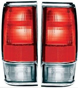 1982-1993 Chevy S10 GMC S15 Left&Right Taillight Taillamp Tail Lamp Light Pair