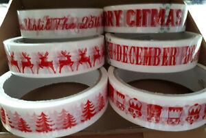 Washi Masking Tape 10m Klebeband Dekoband  Weihnachten