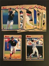 1996 Bowman Cleveland Indians Team Set 15 Cards