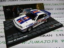 RIT55 voiture 1/43 IXO Altaya Rallye OPEL MANTA 400 Tour de Corse 1983 Fréquelin