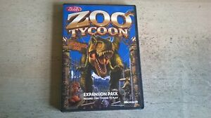 ZOO TYCOON 1 DINOSAUR DIGS EXPANSION PACK - PC GAME ADD-ON - FAST POST