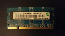 Ramaxel 1GB Ram 1RX8 PC2-5300S-555 LF, DDR2 SO-DIMM 200 pin, laptop memory