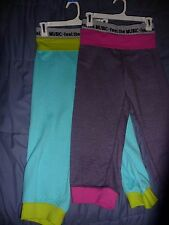 NWT Zumba Dance Fitness Maxin' N Relaxin' Capri Comfy Heathered Fabric! Best