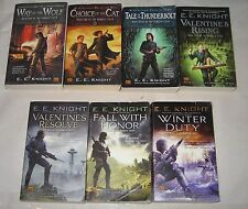 E E Knight lot of 8 science fiction paperback books 1-8 in Vampire Earth series