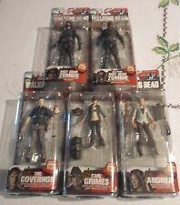 McFarlane Walking Dead TV Series 4 SET OF 5 FIGURES, FREE FAST SHIPPING