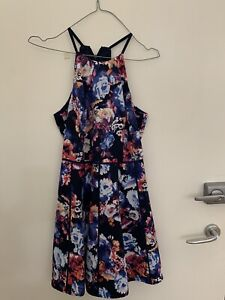 TOKITO Teens Size 8 Pre-owned Summer Cute A-line Floral Dress