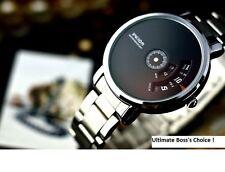 Veyron Wilon fashion genuine steel strip Turntable Dial quartz watch dizzy mens