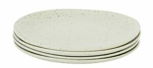 3 x Habitat Olmo Off White Speckled Dinner Plate 28cm Dining Set Plates Large
