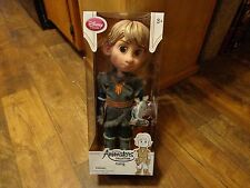"DISNEY STORE--ANIMATOR'S COLLECTION--FROZEN'S 16"" KRISTOFF DOLL FIGURE (NEW)"