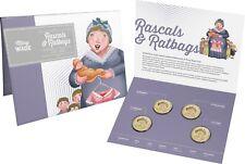 2018 Rascals & Ratbags - Australia Convict Era - $1 Four coin set