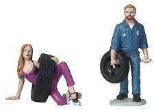 Motorhead Miniatures 1:18 Scale Gary & Val Figurines