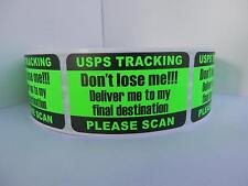 PLEASE SCAN USPS TRACKING DELIVERY CONFIRMATION DON'T LOSE ME Green Fluor 500/rl