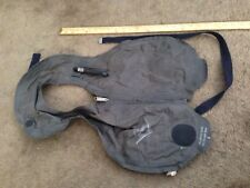 Vintage Navy Life Inflatable Diving Swimming Vest.voit