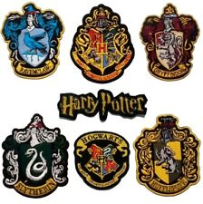 Harry Potter Grand Rob Patch Thermocollant Gryffindor Serpentard Poufsouffle