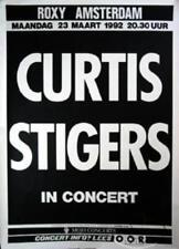 CURTIS STIGERS 1992 TOUR ROTTERDAM CONCERT POSTER
