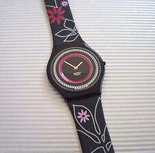JARDIN D' ORIENT! Elegant Black Floral SKIN Swatch! NIB-RARE!