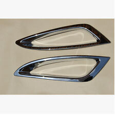 ABS Chrome Front Fog Light Lamp Cover Trim 2PCS For Kia Optima K5 2011-2013