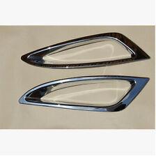 ABS Chrome Front Fog Light Lamp Cover Trim 2PCS For Kia Optima K5 2011-2013