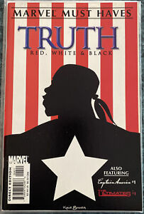 MARVEL MUST HAVES: TRUTH - RED, WHITE & BLACK #1  - 1ST ISAIAH BRADLEY AS CAP!