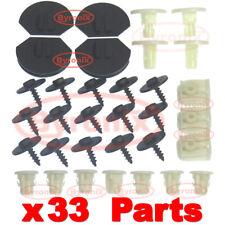 MINI COOPER S D SD ONE F55 F56 UNDERTRAY CLIPS ENGINE UNDER COVER SPLASH GUARD