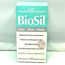 BioSil cH-OSA Advanced Collagen Generator -Hair, Skin, Nails- **120 Capsules**