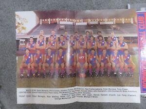 West Perth WAFL team poster