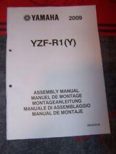 1J - Notice/Manuel Montage/Assemblage Supplement Yamaha Moto YZF-R1 2009