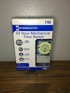 Intermatic 24 Hour Mechanical Time Switch T103