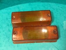 lucas L787 reliant robin front indicator,bond bug  covers only .