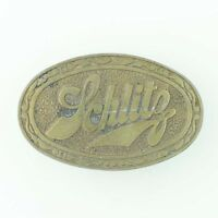 Schlitz Beer Belt Buckle Large Collectible Southwestern Gift